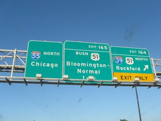66 IL - signs Chicago