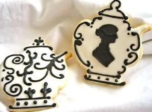 Austen Teapot Cookies by Mischiefmari