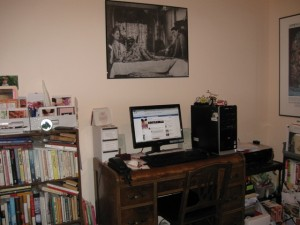 My not-so-organized office...