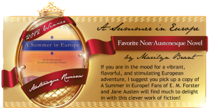 Winner - Austenesque Awards